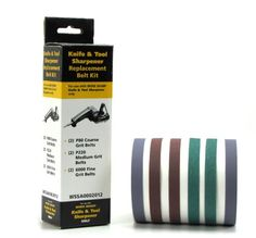 Work Sharp Knife & Tool Sharpener Replacement Belt Kit (WSKTS & WSKTS-KT Only) Discount - http://mydailypromo.com/work-sharp-knife-tool-sharpener-replacement-belt-kit-wskts-wskts-kt-only-discount.html