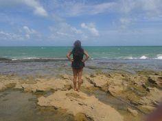 Simplesmente admirando, Praia do Forte-RN   #AmoNordeste #RN #PartiuBrasil #Turismo