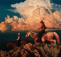 Western Horseman, Le Vent Se Leve, Art Zine, Virtual Museum, Cowboy Art, Southwest Art, Fine Art Auctions, Sketch Painting, Le Far West