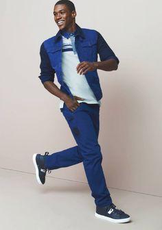 Sleek and athletic-inspired look from Sean John