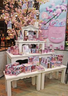 Gorgeous Pink Blossom display