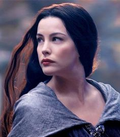 striking beauty of Liv Tyler in Lord of the Rings
