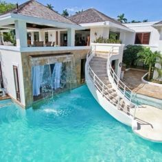 yea it's my house. I jump off my house into my pool. yea it's my house. I jump off my house into my pool. Terraced House, Big Houses, Pool Houses, Dream Houses, Dream Mansion, Swimming Pool Designs, Swimming Pools, Lap Pools, Indoor Pools