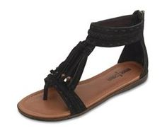 Belize Minnetonka Sandal in Black. Summer lovin' these and bought myself a pair.