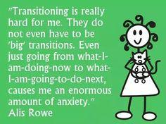 Change & Aspergers