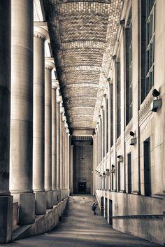 'Toronto Union Station' by Tetyana Kovyrina on artflakes.com as poster or art print $16.63