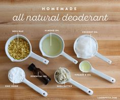 Homemade Deodorant Recipe Natural DIY Deodorant with simple ingredients Ive read that Frankincense is a good choice for homemade deodorant it fights against breast cancer. Diy Deodorant, All Natural Deodorant, Home Made Deodorant Recipes, Baking Soda Deodorant, Essential Oil Deodorant, Natural Shampoo, Coconut Oil Deodorant, Make Your Own Deodorant, Natural Toothpaste