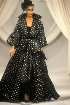 Sonia Cole, Gianfranco Ferre for Christian Dior Haute Couture, 1989/90.