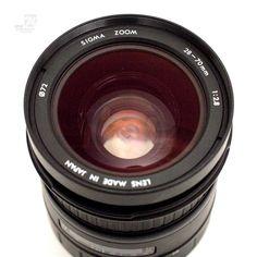 SIGMA 28-70mm Zoom 2.8 Objektiv - cyan74.com vintage & pop culture