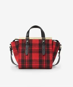 vignette design: Tartan In My Closet For The Holidays