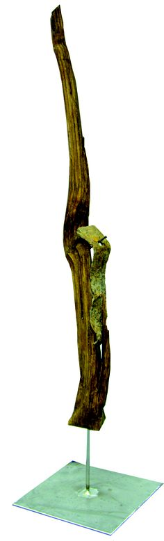 """liaison""  wood, irion rust  2008  sold    info@art-inari.com  art-inari.com Art School, Incense, Rust, Sculptures, Wood, Painting, Photography, Woodwind Instrument, School Of Arts"