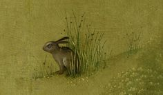 The Garden Of Earthly Delights (detail), Hieronymus Bosch - bunny tattoo? Hieronymus Bosch, Renaissance, Art Roman, Pieter Bruegel, Arte Tribal, Garden Of Earthly Delights, Piet Mondrian, Rabbit Art, Bunny Art