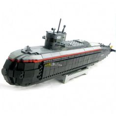Nuclear Submarine - LEGO Compatible