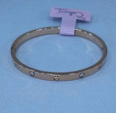 Cartier style stainless steel rose gold bracelet : Cellucci Jewellery collection ♡♡