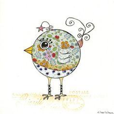 whimsical bird