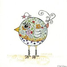 whimsical bird