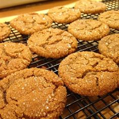 """Triple the Ginger Cookies I """"The best GINGER cookie I have ever made! I love the crystallize ginger, it really gives the cookie zing!"""""""