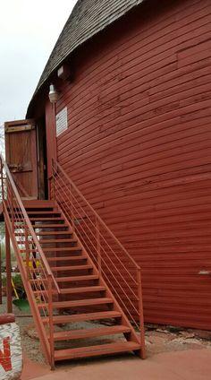 Historical Round Barn in Arcadia Oklahoma on Rt66