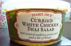 What's Good at Trader Joe's?: Trader Joe's Curried White Chicken Deli Salad