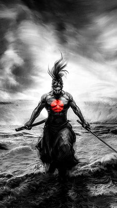 Samurai Art We have a Collection for desktop wallpapers, so this is to fill the gap for mobile wallpapers. Samurai Warrior Tattoo, Warrior Tattoos, Japanese Artwork, Japanese Tattoo Art, Samourai Tattoo, Ronin Samurai, Samurai Artwork, Japon Illustration, Ninja Art