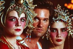 Kim Cattrall, Kurt Russell, and Suzee Pai in Big Trouble in Little China James Hong, Monster High Clothes, Kurt Russell, Tv Show Games, Movie Blog, Fantasy Story, Movie Tickets, China, Music Film