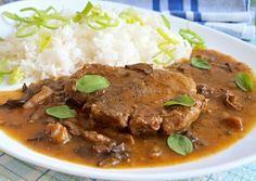 Czech Recipes, Tasty, Yummy Food, Food 52, Crockpot, Pork, Food And Drink, Menu, Baking
