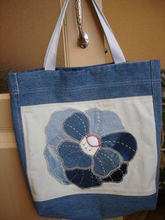 джинс сумка квилтинг