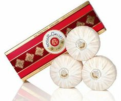 JEAN MARIE FARINA BOX OF 3 SOAPS X 3.5 OZ UNISEX by Roger & Gallet. Save 20 Off!. $16.03. Boxed set of three triple-milled soap cakes. Imported from France. 3.5 oz. each. For nearly two centuries, this famous French house has been creating products of incomparable quality and fragrance. The authentic Jean Marie Farina Extra Vieille Perfumed Soaps are a subtle blend of citrus, orange and rustic notes, irresistibly refreshing to the skin. The scented soap adds another layer o...