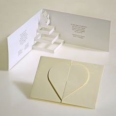 Convite para casamento - Tridimensional