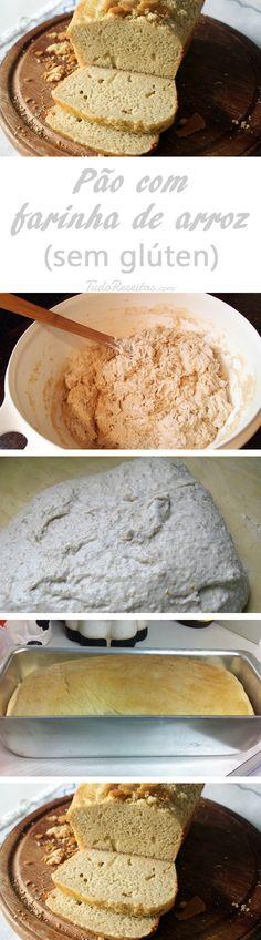 Um pão sem glúten muito fácil de preparar (não precisa deixar levedando)!
