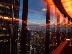 The view, restaurant, New York, travel, honeymoon