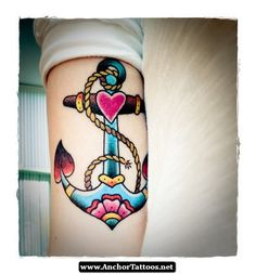 christian anchor tattoo - Google Search