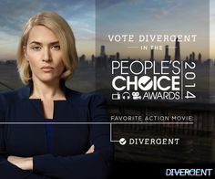 Last chance! Vote for Divergent as your People's Choice Fav Action Movie. Divergent Trilogy, Divergent Insurgent Allegiant, Tfios, He Chose Me, Tris And Four, Close Today, Everything And Nothing, Choice Awards, Action Movies