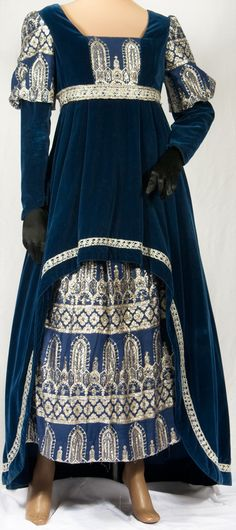 Renaissance Costume Gown 15th Century with Byzantine influence
