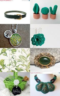 Spring Green 10% Off All Featured Shops by Cristina Idrovo Carrillo on Etsy--Pinned with TreasuryPin.com