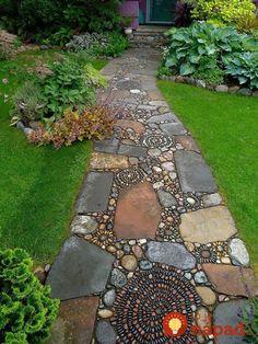 Úžasné výtvory z okruhliakov pre dom aj záhradu: 15 nápadov od ktorých nebudete vedieť odtrnúť oči!