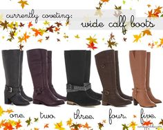 Plus Size Fashion Boots | Chic - Plus Size Fashion and Style Blog: currently coveting: plus size ...