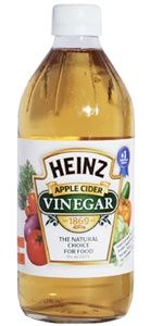 ACV! Try adding a teaspoon of apple cider vinegar to every 8 oz. glass of water you drink throughout the day. If you maintain the daily intake of 64oz. of water, you will start to see the pounds shed fast!  Detoxification: If you are looking for a healthy detox, look no further than apple cider vinegar. Combine 1  cups apple cider vinegar with one gallon of water and drink throughout the course of a day for an overall body and kidney