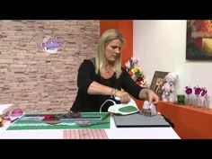 Carolina Rizzi - Bienvenidas en HD - Hace individuales con Patchwork.