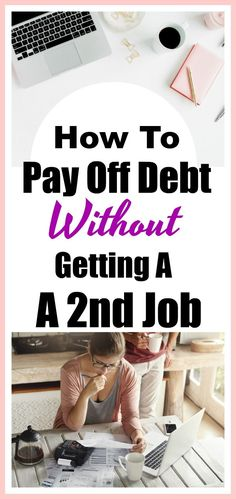 How To Pay Off Credit Card Debt Without Getting A 2nd Job! These great tips will get you and your finances back on track in no time! Use these tried and true methods to find financial freedom. Budgeting, frugal living tips, paying off debt, personal finance, money saving tips.