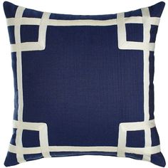 Navy Rio Outdoor Pillow (205 PAB) ❤ liked on Polyvore featuring home, outdoors, outdoor decor, multi colors, outdoor garden decor, outdoor pillows, outdoor throw pillows, outdoor toss pillows and navy outdoor pillows