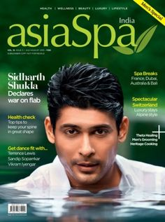 "It is India's wellness #lifestyle #magazine and is dedicated to the concept of wellness. Our endeavor is to gives latest update to our readers on spas, health & wellness, beauty, luxury lifestyle and luxury travel. Published on a bi-monthly basis, #asiaSpa India reaches people who have already adopted ""wellness as a lifestyle"" or are aspiring to do so.  Get 10% Discount + Kiana Aqua Soothing Cleansing Gel."