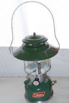 1968 Vintage Coleman Lantern, SUITABLE FOR: Lapsed Eagle Scouts, NOT SUITABLE FOR: Torching your wings in protest