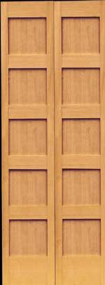 Nice S 194 Fir Five Panel Shaker Bifold Closet Solid Wood Interior Door S 194