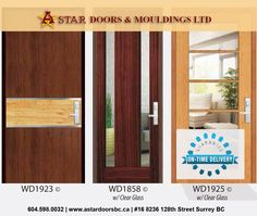 solid exterior doors and exterior doors with clear glass