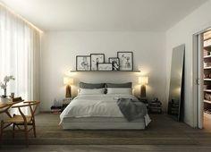 Спальня в скандинавском стиле #scandinavianinterior #homedecor