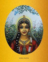 Featured Art - Radha by Vrindavan Das
