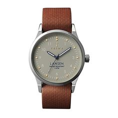 Triwa LAST113 Brown Dawn Lansen Men's Watch by Triwa -- Awesome products selected by Anna Churchill