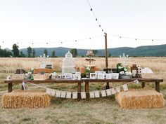 Outdoor Wedding Decorations | Romantic Outdoor Wedding, Courtney & Christopher | Wedding Dress ...