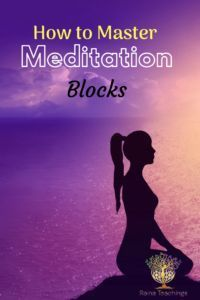 5 Steps to Overcoming Meditation Blocks Raina Teachings Meditation For Beginners, Meditation Techniques, Healing Meditation, Daily Meditation, Mindfulness Meditation, Meditation Music, Meditation Images, Wicca Witchcraft, Magick
